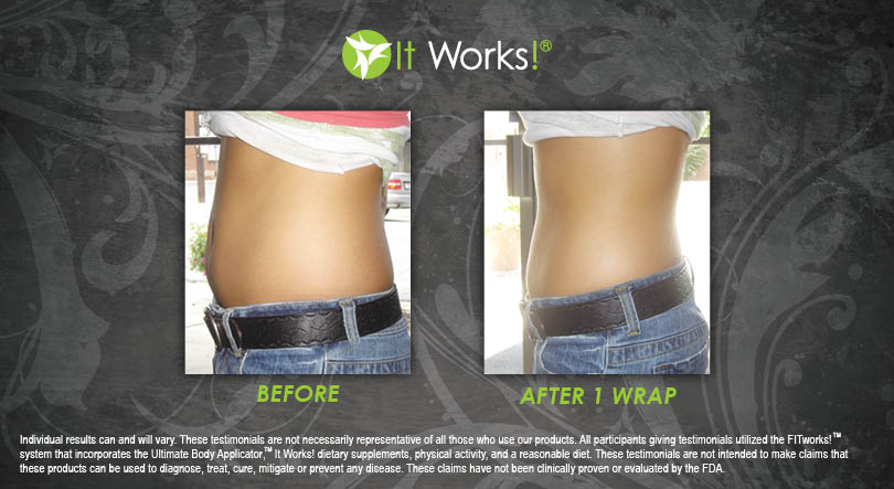 body wrap results picture