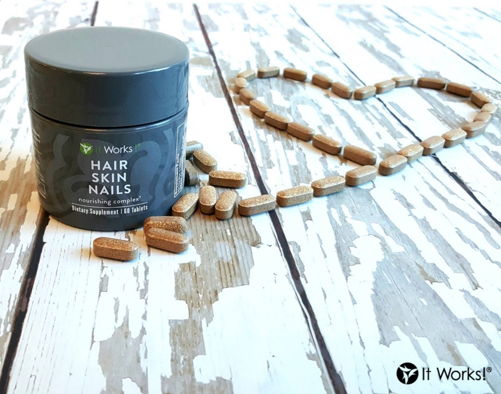 Wrap Toned – It Works Hair Skin Nails Supplement
